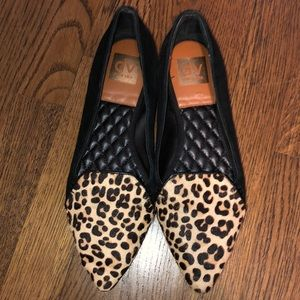 dv Dolce vita leopard pointed flats size 8